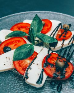 Caprese salad in Italy