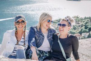 Female group travel to Croatia