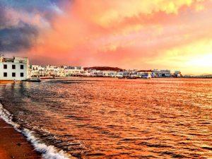Mykonos Town Sunset