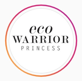 Instagram profile logo for the Eco Warrior Princess - a sustainable living blog created by Jennifer Nini, a bad ass woman to follow on Instagram.