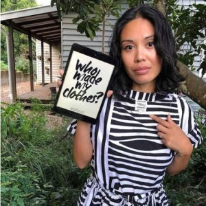 Photo of Jennifer Nini, a bad ass woman on Instagram and the creator of the Eco Warrior Princess - a sustainable living blog.