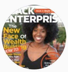 Instagram profile photo of My Fab Finance, featuring founder Tonya Rapley, a bad ass woman to follow.