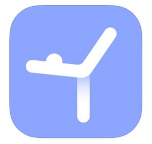 Logo for the Daily Yoga app, which is perfect for at-home workouts.
