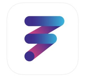 Logo for the FitOn app, which is perfect for at-home workouts.